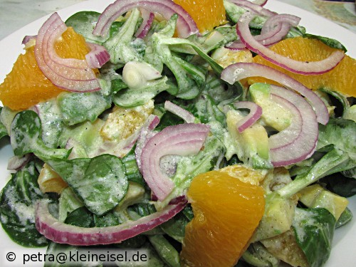Avocado-Orangen-Salat