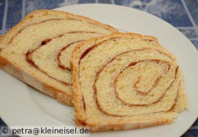 Orangen-Zimt-Strudel-Brot - der Klassiker mal wieder