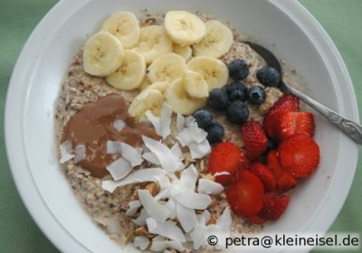 Neue Frühstücksfreuden: Porridge