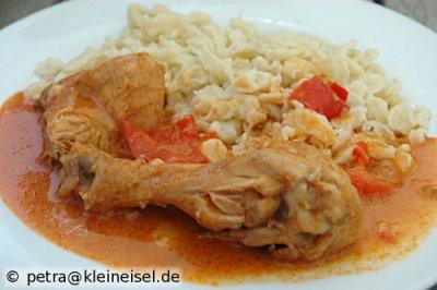Hühnergulasch - ein Familienrezept